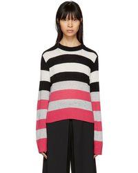 Rag & Bone - Multicolour Striped Cashmere Annika Jumper - Lyst
