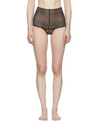 Kiki de Montparnasse - Black Stretch Lace Soft Bra - Lyst