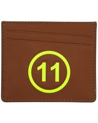 Maison Margiela - Brown And Yellow 11 Card Holder - Lyst
