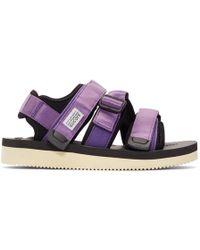 Suicoke - Purple Kisee-v Sandals - Lyst