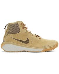 Nike - Beige Acg Angels Rest High-top Trainers - Lyst