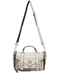Proenza Schouler - White Ps1and Tiny Zip Messenger Bag - Lyst