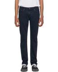 Burberry - Indigo Slim Jeans - Lyst