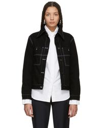 Etudes Studio - Black Celest Denim Jacket - Lyst