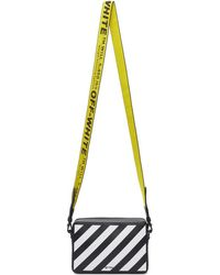 Off-White c/o Virgil Abloh Black Diag Mini Flap Bag