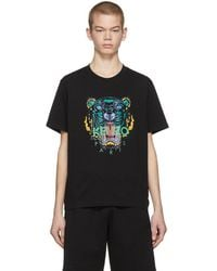 KENZO - Black Limited Edition Holiday T-shirt - Lyst