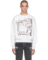 a0dcb185d7 Enfants Riches Deprimes - White Bath House Orgy Sweatshirt - Lyst