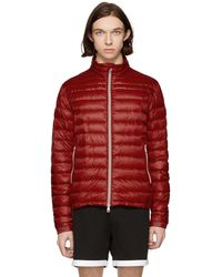 Moncler - Red Down Daniel Jacket - Lyst