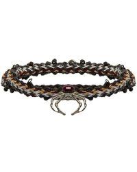 Lanvin - Multicolour Spider Bracelet - Lyst