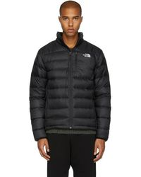 The North Face | Black Down Aconcagua Jacket | Lyst