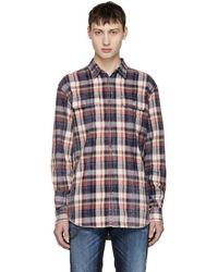 DSquared² - Multicolor Bleached Check Shirt - Lyst
