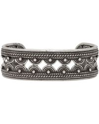 Saint Laurent - Silver Marrakesh Cuff - Lyst