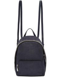 Stella McCartney | Navy Mini Falebella Backpack | Lyst