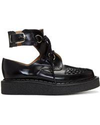 Comme des Garçons - Black George Cox Edition Mid Cut Cuff Boots - Lyst