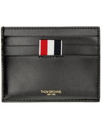 Thom Browne - Black Embossed Toy Icon Card Holder - Lyst
