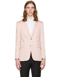Tiger Of Sweden - Pink Atwood Blazer - Lyst