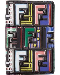 Fendi - Multicolor 2 Jours Logo Passport Holder - Lyst