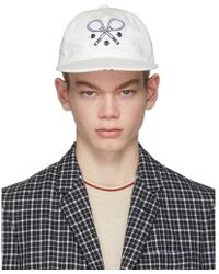 Thom Browne - White Tennis Cap - Lyst