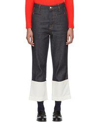 Loewe - Indigo Fisherman Jeans - Lyst