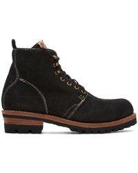 Visvim - Black Folk Zermatt Boots - Lyst