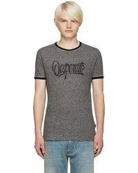 Marc Jacobs - Grey Desperate T-shirt - Lyst
