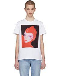 Stella McCartney - White Venus Print Idol T-shirt - Lyst