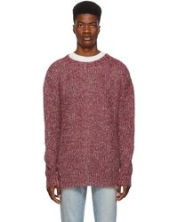 Simon Miller - Red And Indigo Mohair Sweater - Lyst