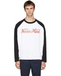 Etudes Studio - Black & White Desert 'nevermind' T-shirt - Lyst