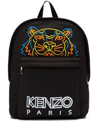 KENZO - Embroidered Tiger Backpack - Lyst