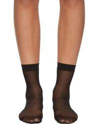 Wolford - Black Individual 10 Socks - Lyst