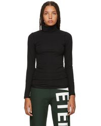 Vetements - Black Fitted Inside Out Turtleneck - Lyst
