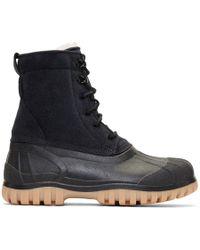 Diemme - Black Suede Antara Boots - Lyst