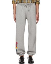 Burberry - Grey Rainbow Lounge Pants - Lyst