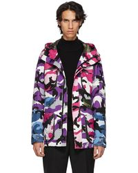 Valentino - Multicolor Camou Shuffle Jacket - Lyst