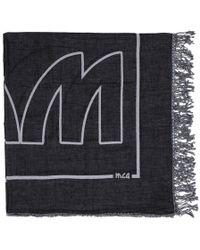 McQ - Black V2 Block Scarf - Lyst