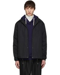 Yves Salomon - Black Bachette Coat - Lyst
