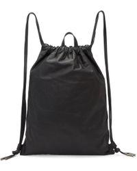 PB 0110 - Black Ab 18 Drawstring Backpack - Lyst