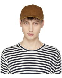 Junya Watanabe - Brown Cotton Canvas Cap - Lyst