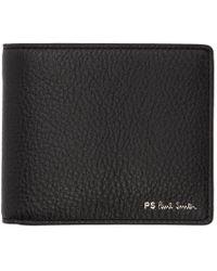 PS by Paul Smith Black Stripe Bifold Wallet
