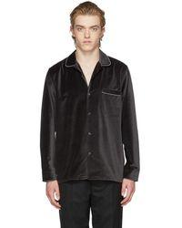 Cobra S.C. - Black Velvet Cabriolet Shirt - Lyst