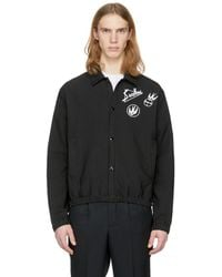 McQ - Black Swallow Windcheater 01 Bomber Jacket - Lyst