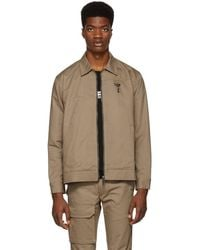 Reese Cooper - Khaki Patches Work Jacket - Lyst