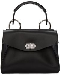 Proenza Schouler - Black Small Hava Top Handle Bag - Lyst