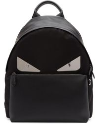 Fendi - Black 'bag Bugs' Backpack - Lyst