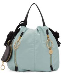 See By Chloé - Blue Small Flo Tote - Lyst