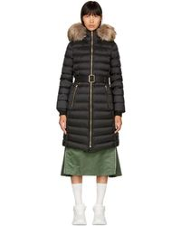 Burberry - Black Limefield Down Coat - Lyst
