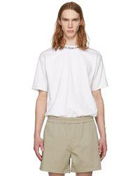 Acne Studios - White Navid T-shirt - Lyst