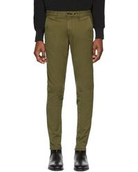 Rag & Bone - Green Fit 1 Classic Chino Trousers - Lyst