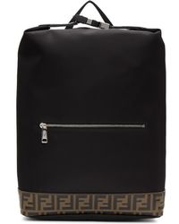 Fendi - Black Forever Backpack - Lyst
