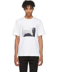 Jil Sander - White Mario Sorrenti Edition 002 T-shirt - Lyst